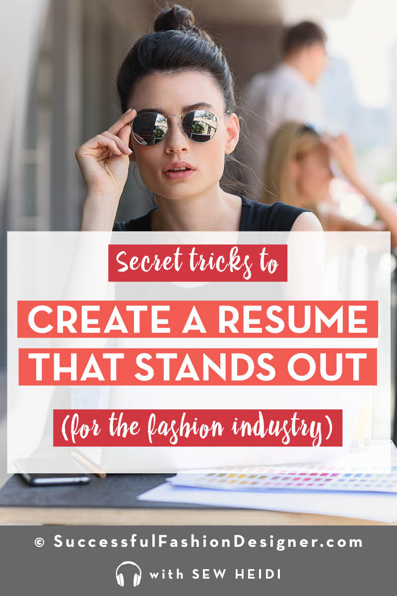 Fashion Design Job Advice for Entry Level + Experienced Candidates
