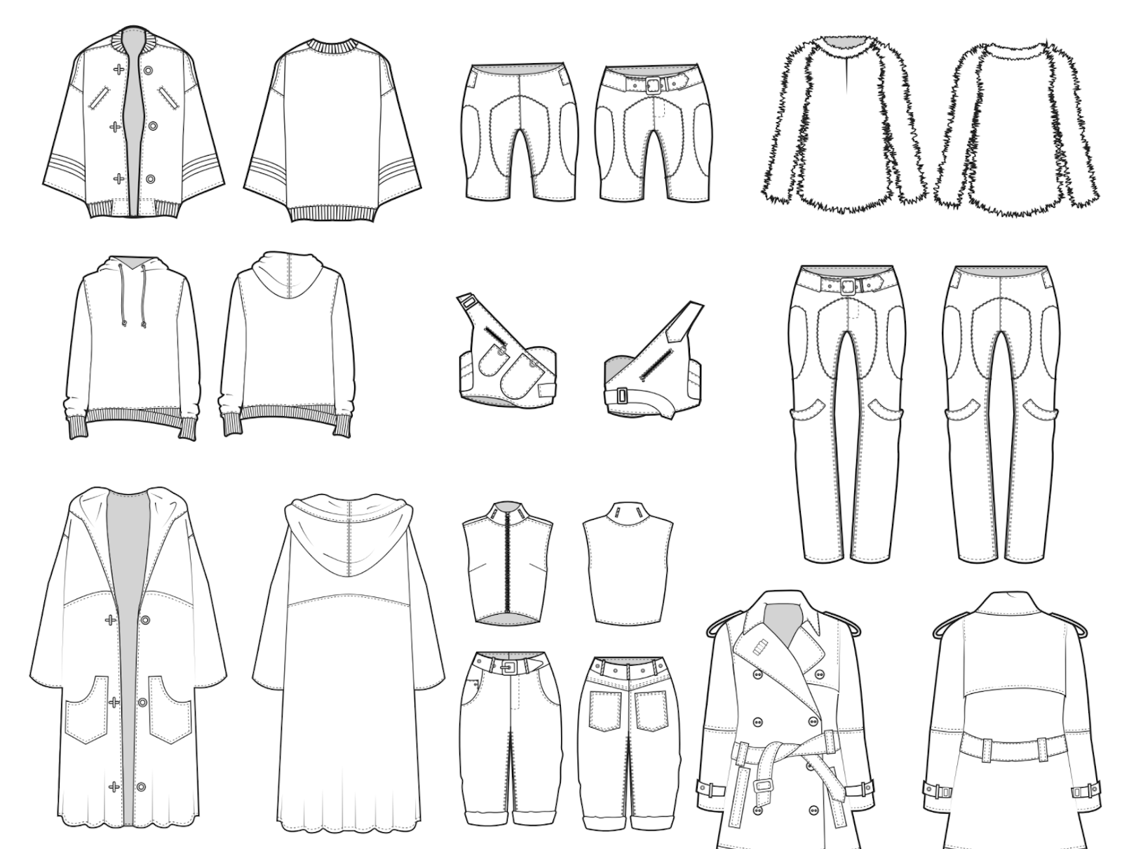 Fashion Portfolio book by Sew Heidi of Successful Fashion Freelancer
