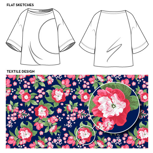 Flat Sketch Textile Design Courses Free Tutorials On Adobe Illustrator Tech Packs Freelancing For Fashion Designers Courses Free Tutorials On Adobe Illustrator Tech Packs Freelancing For Fashion Designers