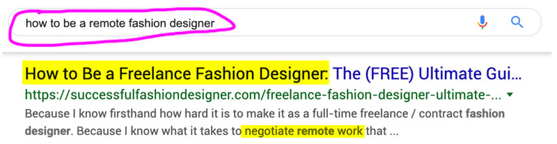How to be a freelancer in fashion