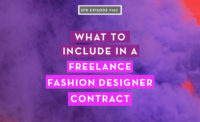 What to include in a freelance fashion designer contract