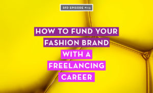 fund fashion brand freelancing
