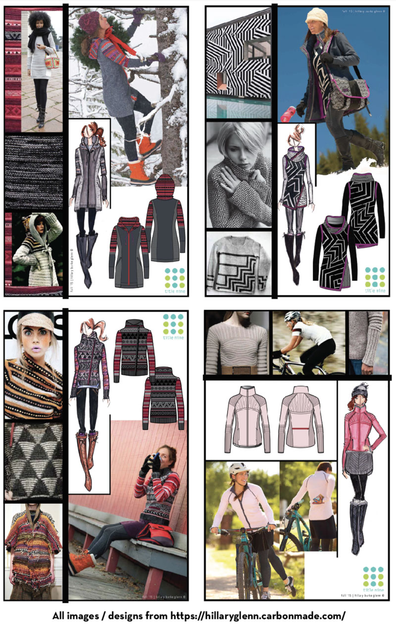 Hillary Glenn Freelance Fashion Design Portfolio Example, Ultimate Guide to Being a Freelance Fashion Designer by Sew Heidi