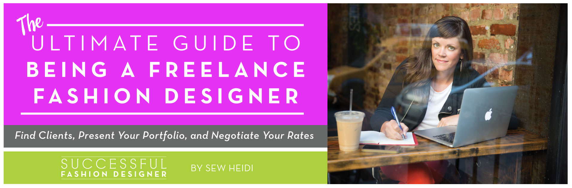 How to Be a Freelance Fashion Designer: The Ultimate Guide by Sew Heidi