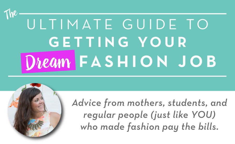 How to Get a Fashion Design Job