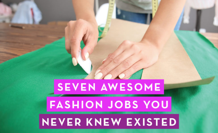 7 Awesome Jobs in Fashion: By Sew Heidi