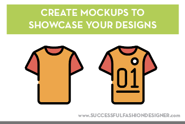 create mockups when you start a clothing line