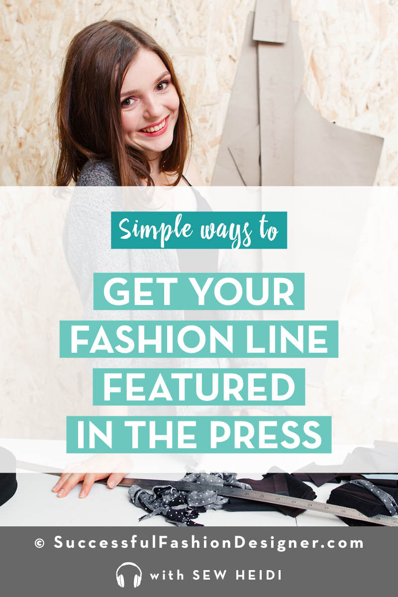 Get Publicity for your Fashion Line