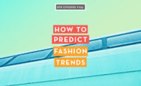 How to predict fashion trends