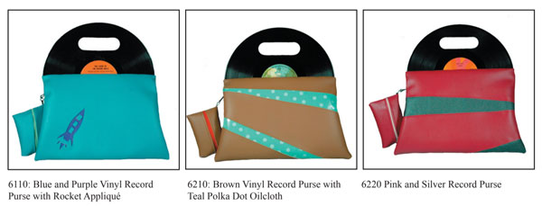 Funklectic Record Purses