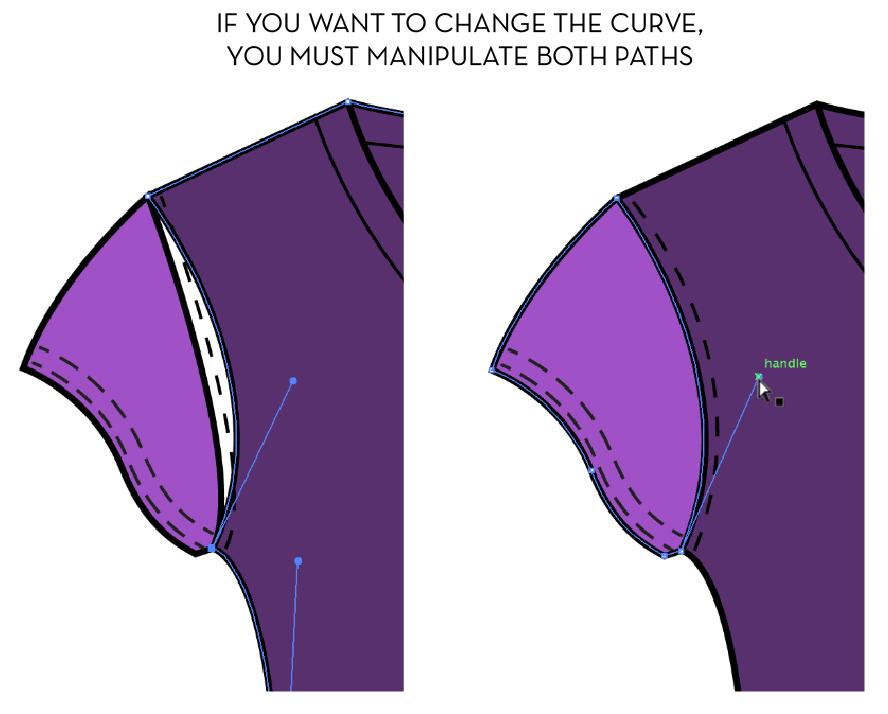 {Sew Heidi} Fashion Illustration Methods: Copy Line Segment