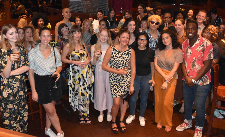 Successful Fashion Designer Party