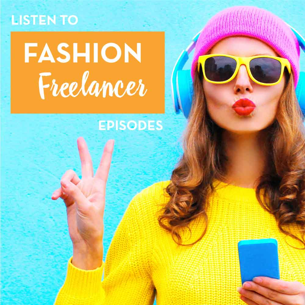 Successful Fashion Designer Podcast, Fashion Freelancer