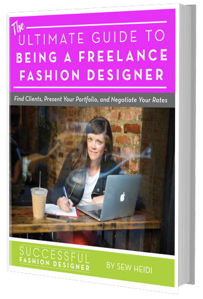 How To Be A Freelance Fashion Designer The Free Ultimate Guide Courses Free Tutorials On Adobe Illustrator Tech Packs Freelancing For Fashion Designers
