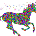 Colorful Unicorn