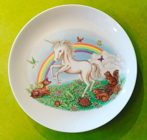 Sew Heidi Unicorn Plate on Instagram
